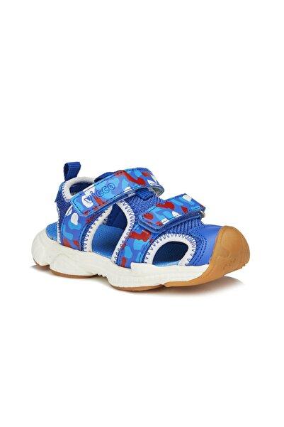 Vicco Leo Erkek Bebe Saks Mavi Sandalet