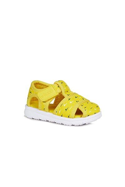 Vicco Bumba Unisex Ilk Adım Sarı Sandalet