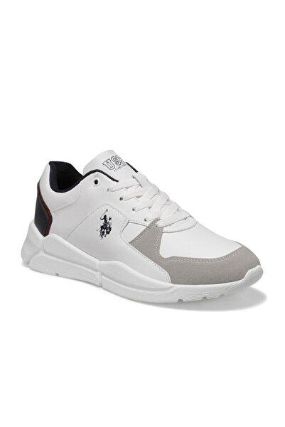 U.S. Polo Assn. Calabrıa Beyaz Erkek Sneaker Ayakkabı