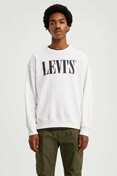 Levi's Erkek Beyaz Sweatshirt 85788-0000