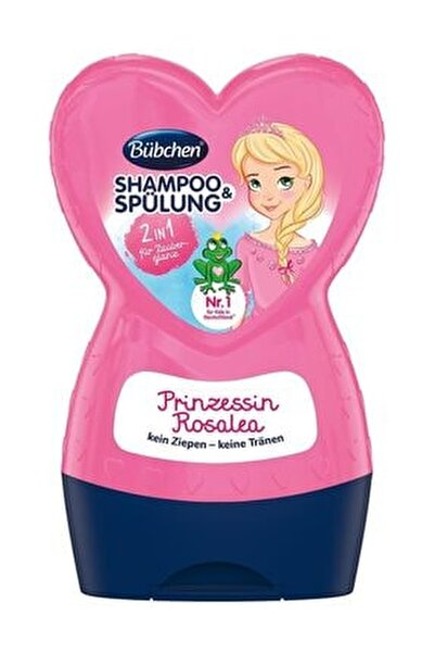Çocuk Şampuanı Ve Balsam Prenses Rosalea 230 Ml