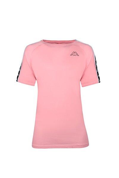 Kappa Erkek Pembe Şerit Detaylı Kısa Kol  T-shirt 303uv10-a36