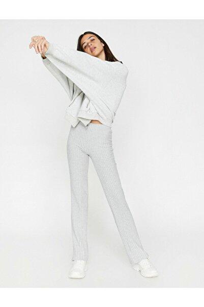 Koton Kadın Normal Bel, Düz Pantolon
