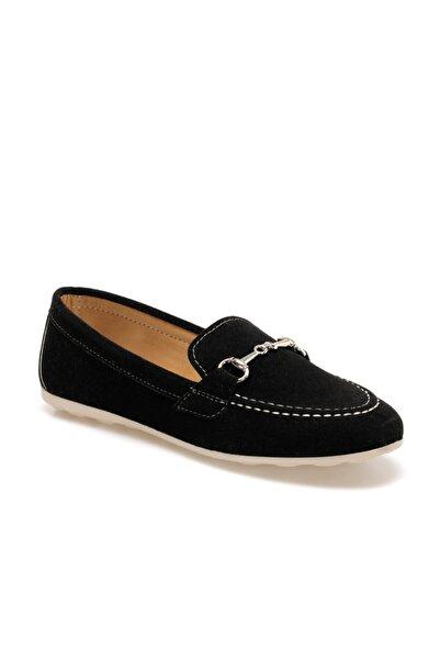 Butigo Kadın Siyah Loafer Ayakkabı CANDACE