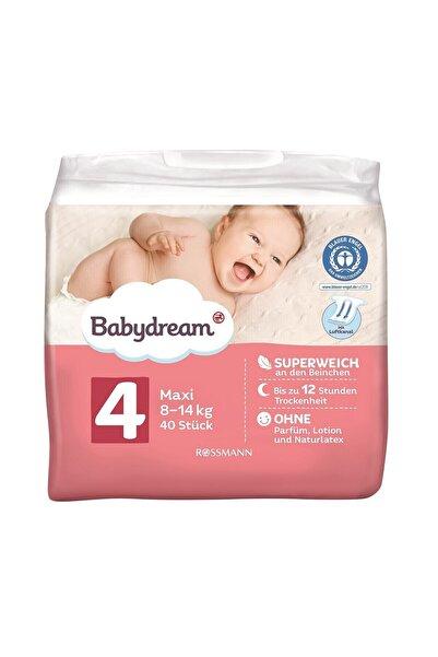 BABYDREAM Bebek Bezi 4 Beden 40'lı