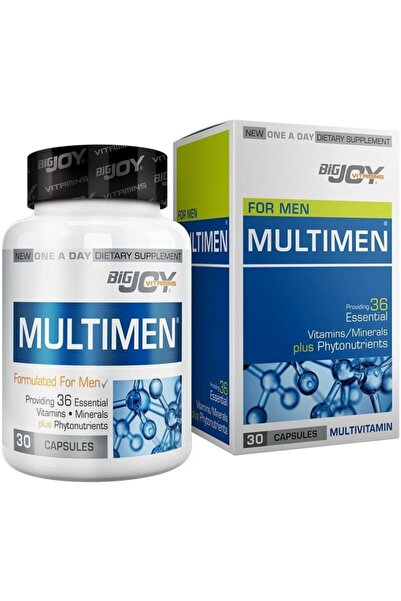 Big Joy Vitamins Multimen Mulltivitamin 30 Kapsül