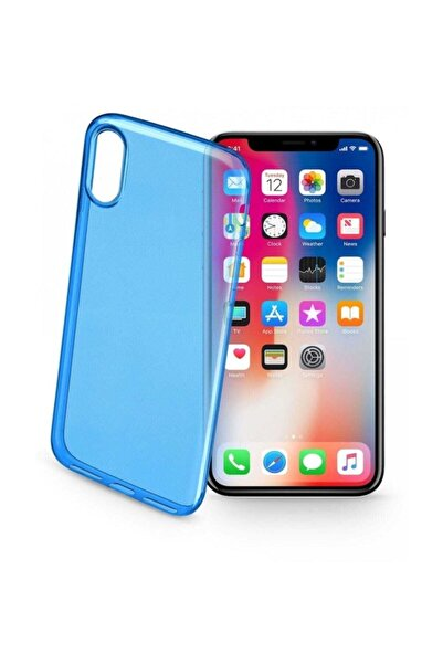 Cellular Line Cellularline iPhone X/XS Color UltraSlim Şeffaf Kılıf