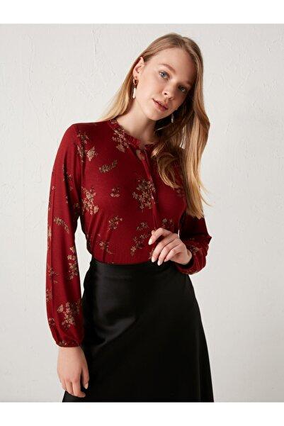 LC Waikiki Kadın Kırmızı Bluz
