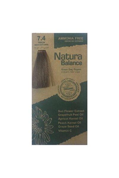 natura Balance Saç Boyası 7.4 Tarçın