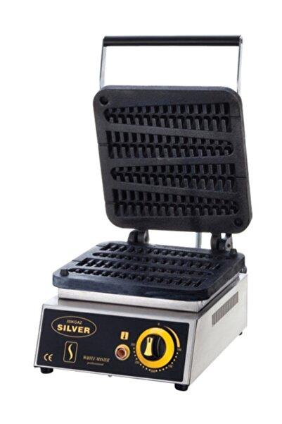 Işıkgaz Silver Çubukta Waffle Makinası