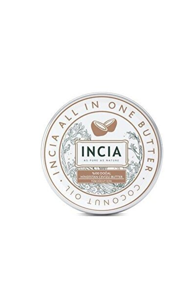 Incia %100 Doğal Hindistan Cevizli Butter 50 ml