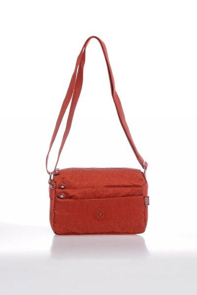 SMART BAGS Smbky1006-0128 Kiremit Kadın Çapraz Çanta