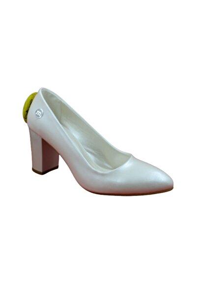Mammamia Kadın Sedef Topuklu Ayakkabı 36D19ka-825-b