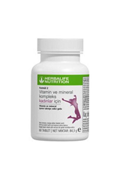 Herbalife Formül 2 Vitamin Ve Mineral Kompleks Kadınlar Için 60 Tablet