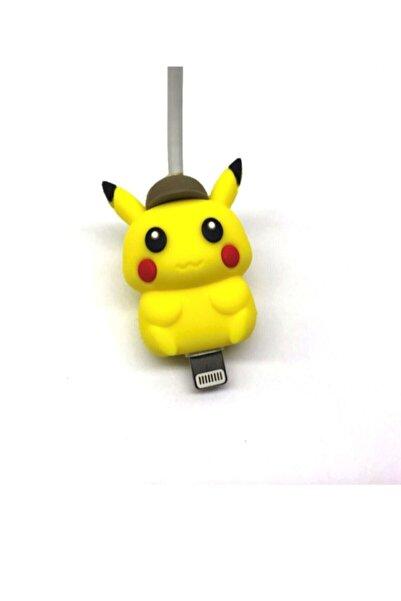 MY MÜRDÜM Sevimli Silikon Kablo Koruyucu Pikachu