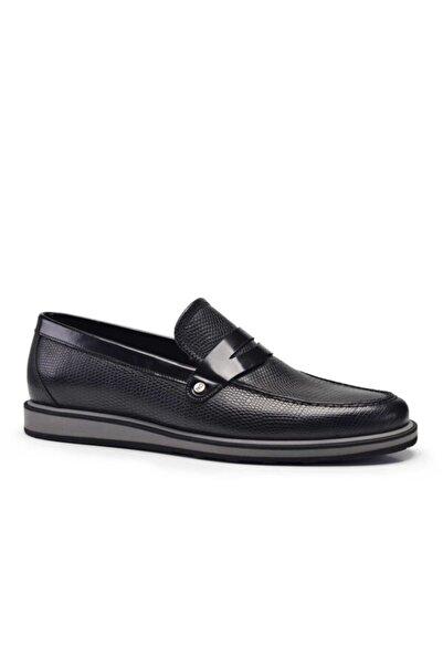 Nevzat Onay Erkek Hakiki Deri Siyah Günlük Loafer Erkek Ayakkabı 20. 8660