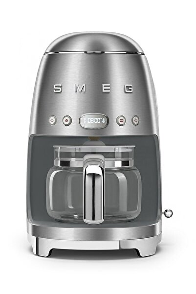 SMEG Çelik Filtre Kahve Makinası 50's Retro Dcf02sseu