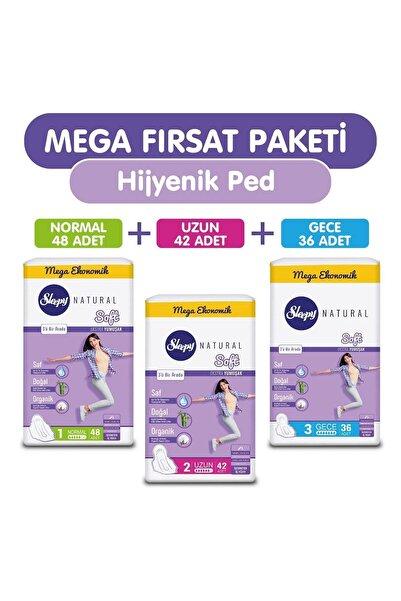 Sleepy Natural Soft Ekstra Yumuşak (126 Ped) Mega Fırsat Paketi