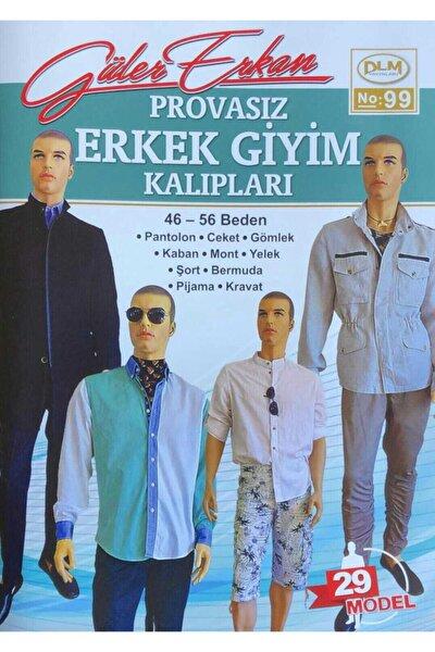Dilem Yayınları Güler Erkan Provasız Erkek Giyim Kalıpları No 99