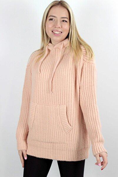 Axxel Güler Tekstil Kapşonlu Triko Sweatshirt 4006