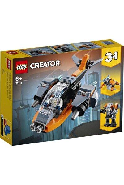 LEGO Creator 3'ü 1 Arada Siber Insansız Hava Aracı 31111