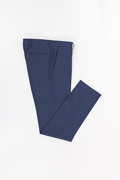 Jakamen Lacivert Renk Dar Kalıp Erkek Pantolon