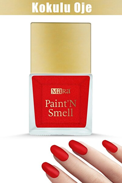 Mara Paint'n Smell Kokulu Oje Rose Passion 15ml