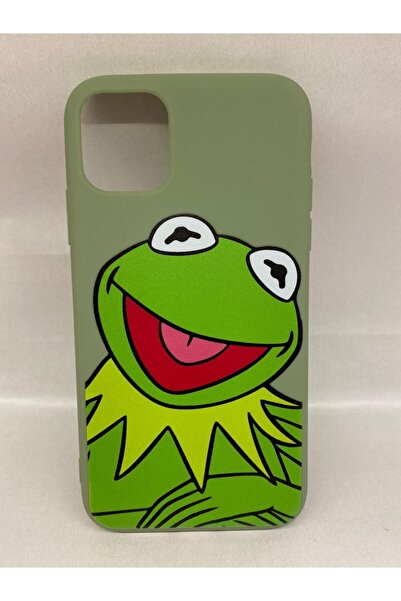 Köstebek Iphone 11 Kurbağa Kermit Telefon Kılıfı
