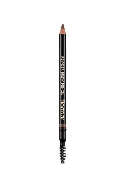 Flormar Kaş Kalemi - Powder Brow Pencil Light Brown 02 8690604634217