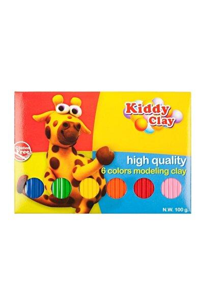 Bigpoint Kiddy Clay Tabaka Model Hamur 6 Renk 100 gr
