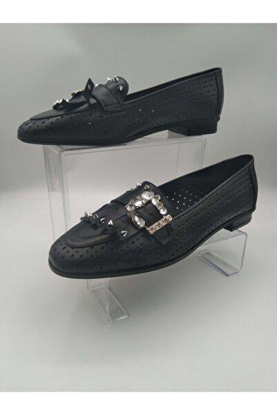 Oscar Kadın Siyah Ayakkabı