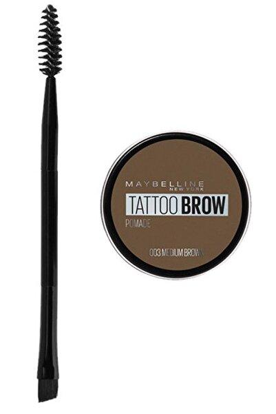 Maybelline New York Kaş Pomadı - New York Tattoo Brow No:03 Medium Brown Pomad