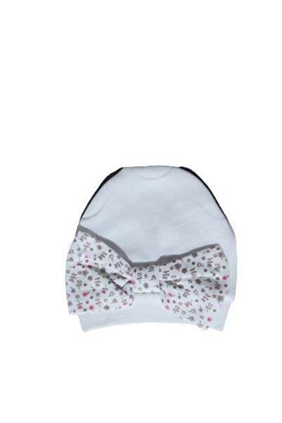 Bibaby Fiyonklu Şapka 72060 Çiçekli Desen
