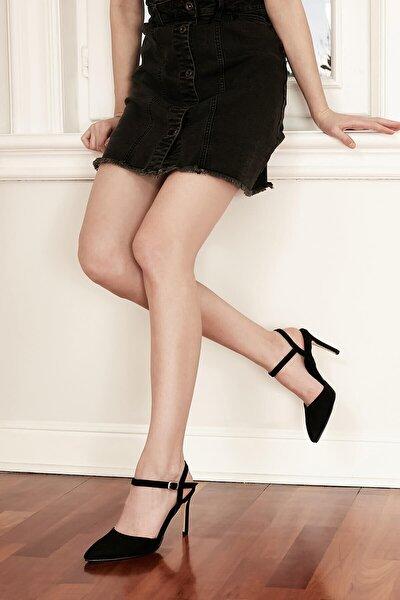 Mio Gusto Bilek Bantlı Topuklu Ayakkabı