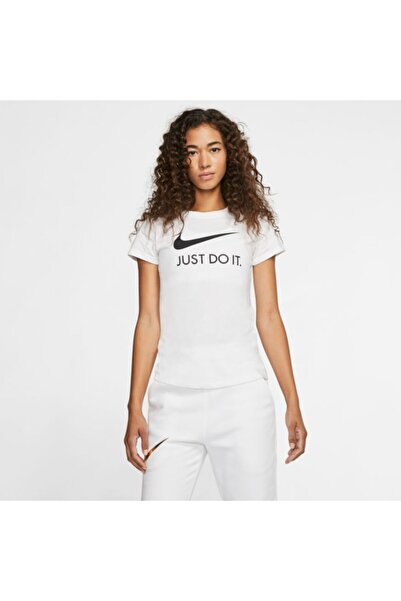 Nike Kadın Beyaz Sportswear Tişört