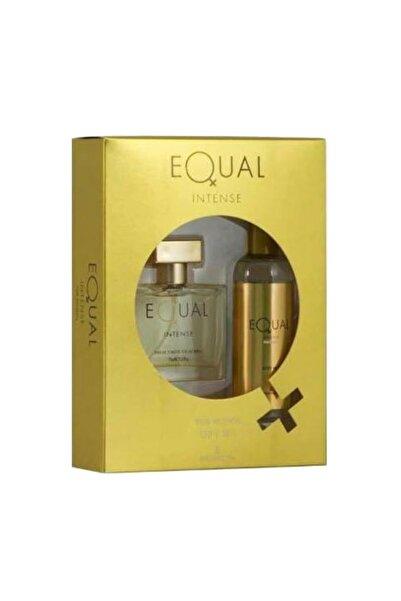 Equal Kadın  Intense Parfüm Seti Edt 75 Ml+ 150 ml Vucut Losyonu