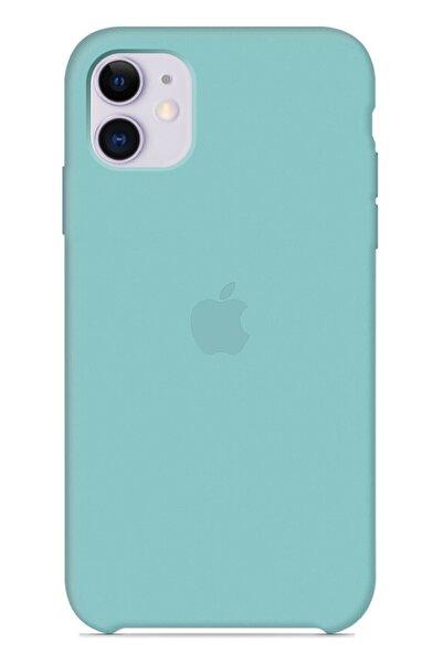 Ebotek Apple Iphone 11 Silikon Kılıf Turkuaz