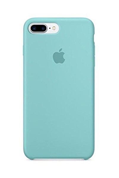 Telefon Aksesuarları Iphone 7 Plus / 8 Plus Silikon Kılıf Deniz Mavisi Gnp88