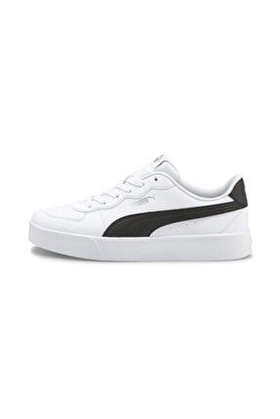 Kadın Skye Clean  Spor Ayakkabı - Beyaz-siyah