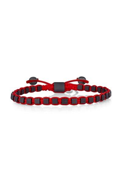 Toms Jewelry Erkek Siyah Makrome Bileklik TMJ20023-123-K