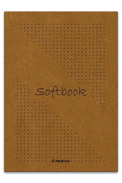 Etika Softbook Noktalı Defter  Kraft Kapak 50 Yaprak 15,5x23 cm