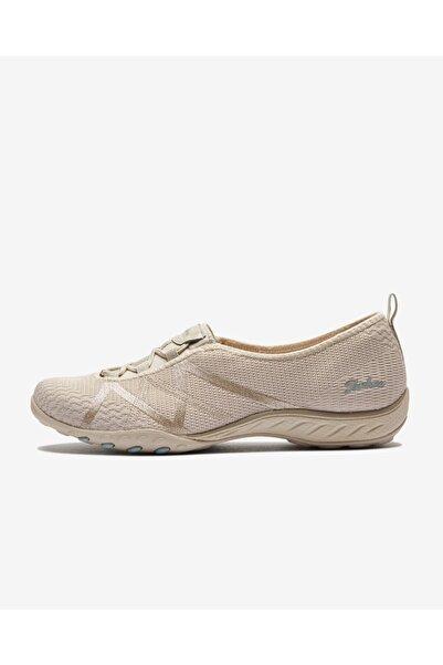 SKECHERS BREATHE-EASY - A-LOOK Kadın Natürel Spor Ayakkabı