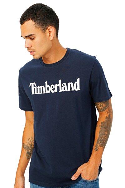 Timberland SS KENNEBEC RIVER LINEAR Lacivert Erkek T-Shirt 101096743