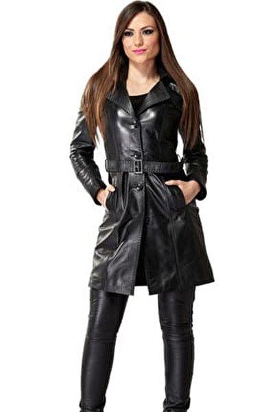 Kadın Jammi Siyah Deri Ceket 2037