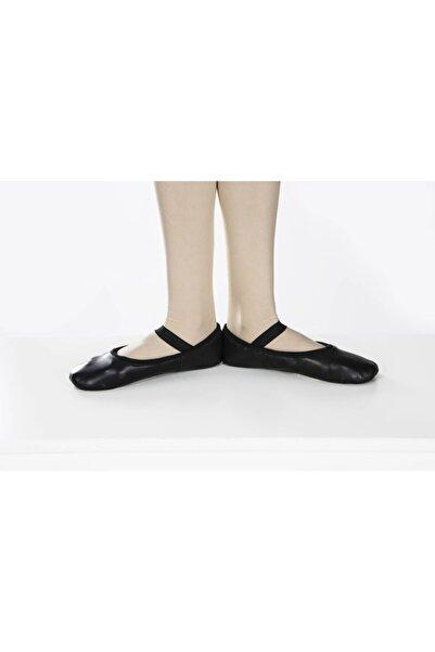 Carmen Bale Bale Patik Siyah Deri Tüm Taban