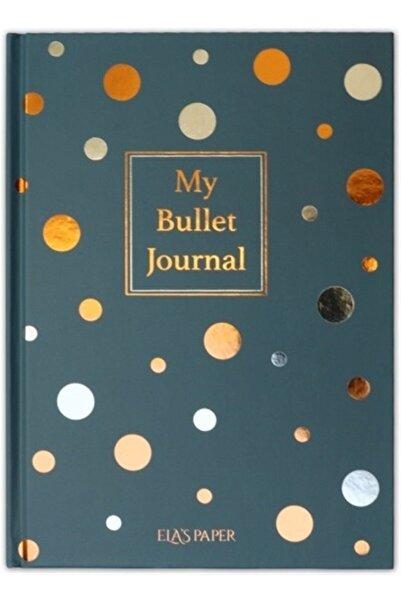 ELAS PAPER My Bullet Journal Defter (Confetti Mavi)