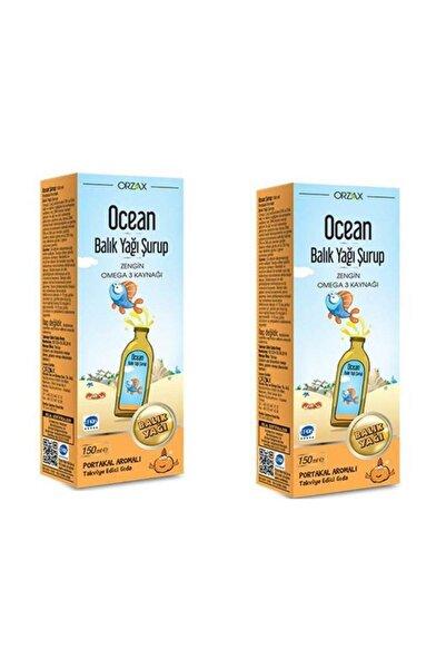 Ocean Portakallı Balık Yağı Şurubu 150 ml 2 Adet