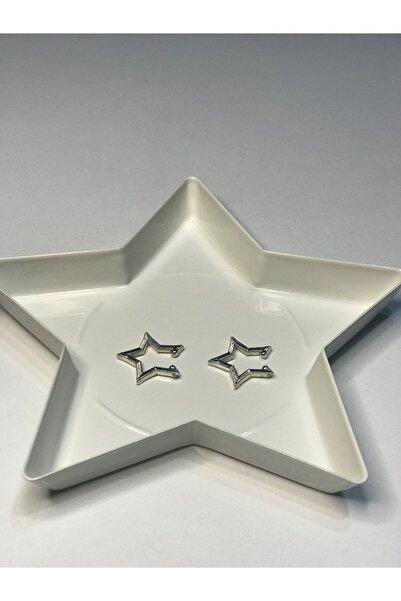 LARVİYA 2'li Yıldız Earcuff