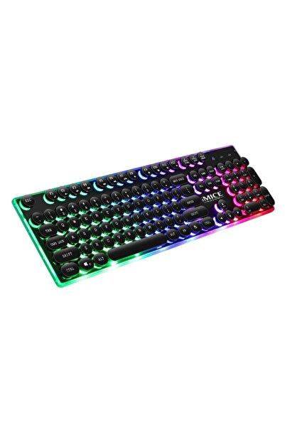 TeknoNet Led Işıklı Çok Fonksiyonlu Oyuncu Klavyesi