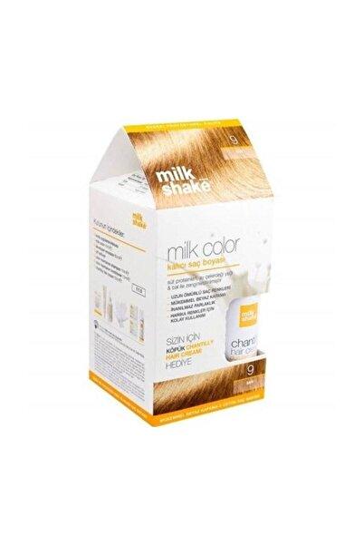 Milkshake Color Kalıcı Saç Boyası Sarı 9 + Bakım Köpüğü 8681127022049